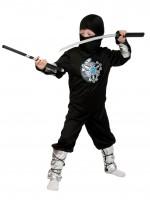 Ниндзя чёрный ЛАЙТ с мечом дет. L