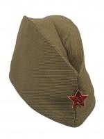 Пилотка ХАКИ звезда металлич. дет. р.51-53 (XS-S)