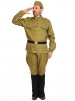 Солдат в САПОГАХ (галифе) ВЗР. XL