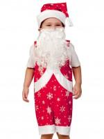 Мистер Санта ткань-плюш