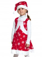 Мисс Санта ткань-плюш