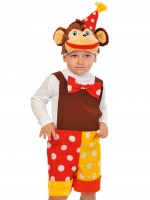 Шимпанзёнок из цирка ткань-плюш
