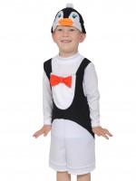 Пингвинчик ткань-плюш
