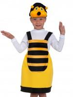 Пчёлка ткань-плюш