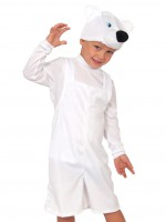 Мишка полярный плюш