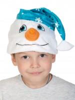 Снеговичок маска