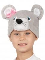 Мышка серая шапочка