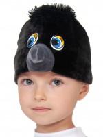 Ворона/Вороненок шапочка