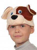 Пёсик шапочка