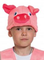 Поросёнок маска-шапочка