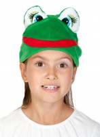 Лягушка шапочка