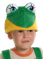 Лягушонок шапочка