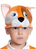 Котик рыжий шапочка