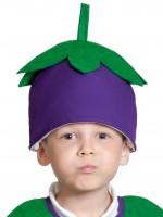 Баклажан шапочка