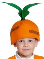 Морковка маска-шапочка