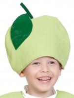 Яблоко маска-шапочка