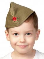 Пилотка ХАКИ дет. р.53-55 (M-L)