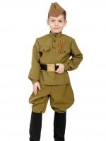 Солдатик в САПОГАХ (галифе) дет.    XS
