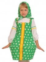 Матрёшка зелёная дет.    XS