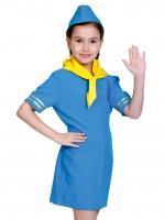 Стюардесса синяя дет.  S