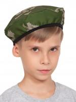 Берет КМФ берёзка (ткань) детский