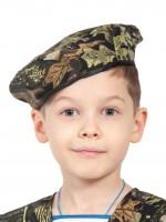 Берет КМФ форест (ткань) детский