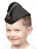 Пилотка ВМФ с кантом дет