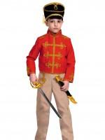 Гусар (текстиль) красно-бежевый дет.   S