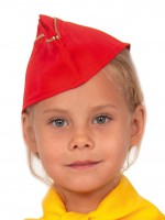 Пилотка Стюардессы красная дет