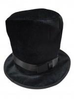 Шляпа -цилиндр чёрный