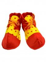 Ботинки Клоун Детские горох, 25см