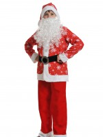 Санта Клаус дет ткань-плюш M