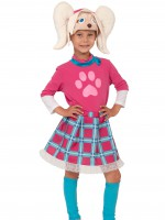 Роза (Барбоскины) (шапочка, юбка, гетры, кофта) XS
