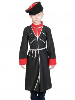 Кавалерист-казак чёрный с красным (без шашки) дет.   S