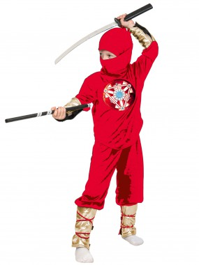 Ниндзя красный с мечом дет.  M
