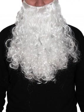 Борода Дед Мороз белая большая