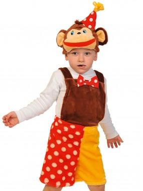 Шимпанзёнок из цирка плюш