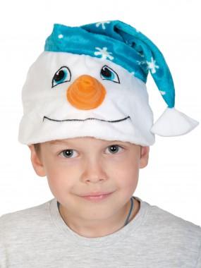 Снеговичок шапочка
