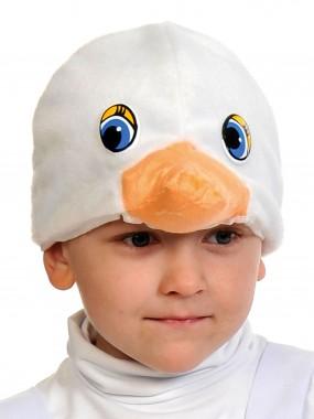 Гусёнок белый шапочка