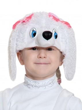 Пуделиха белая шапочка