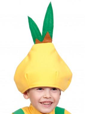 Лук Чипполино шапочка