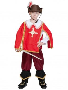 Мушкетер  Портос (красный) дет. L