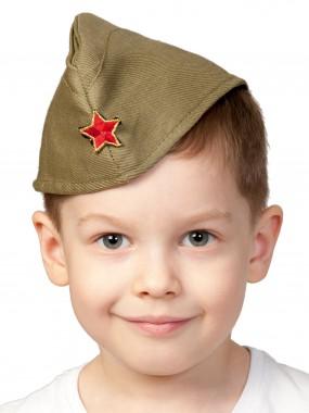 Пилотка ХАКИ дет. р.51-53 (XS-S)