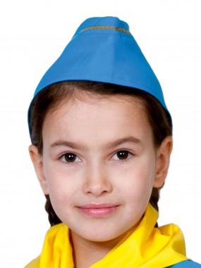 Пилотка Стюардессы синяя дет.