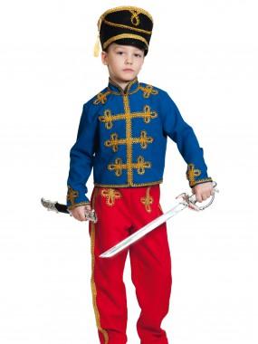 Гусар (текстиль) сине-красный дет.  M