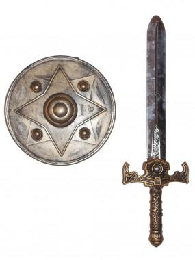 Набор Щит и меч Богатыря 1