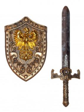 Набор Щит и меч Рыцаря