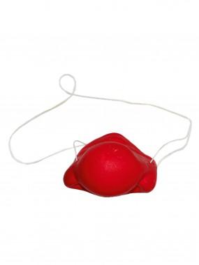 Нос красный резиновый