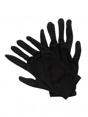 Перчатки трикотаж чёрные