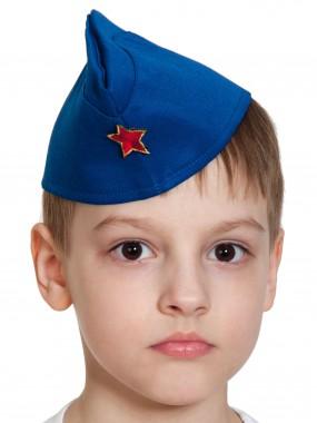 Пилотка ВВС (синяя) дет.